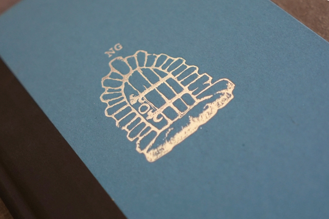 It also has a lovely imprint on the cover beneath the dust jacket. We all know how I love these little touches.