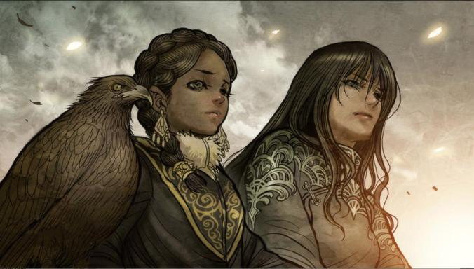 Tuya-and-Maika-Contemplating-a-Mystery-Monstress-1
