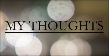 my thoughts garamond