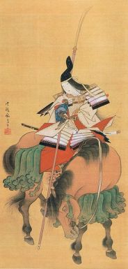Tomoe-Gozen by Shitomi Kangetsu 1747 1797