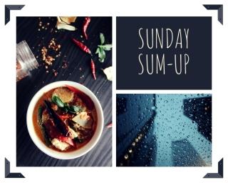 Sumup food and rain